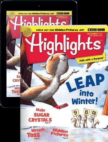 Highlights magazine subscription.   https://www.highlights.com/store/highlights-magazines-for-kids/highlights-magazine