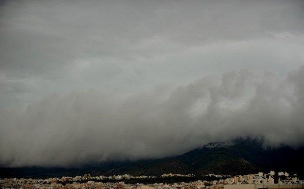 Απότομη αλλαγή του καιρού με ακραία καιρικά φαινόμενα