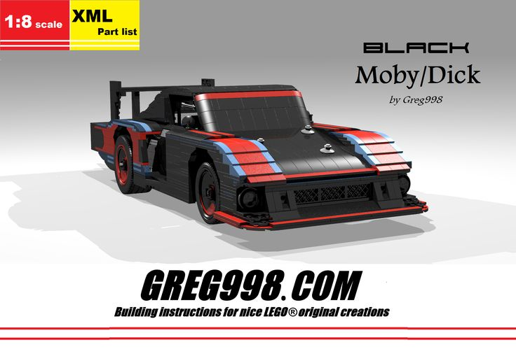Black Moby/Dick by Greg998