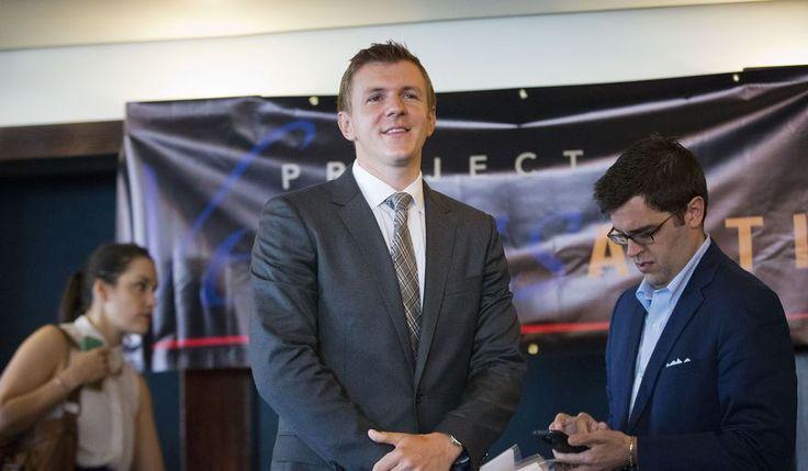 Project Veritas el presidente James O & # 39; Keefe.  (AP) ** ** ARCHIVO