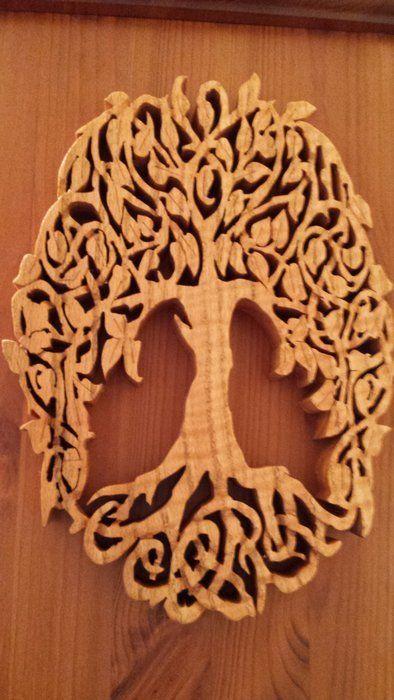 trivet tree scroll saw patterns - Google Search