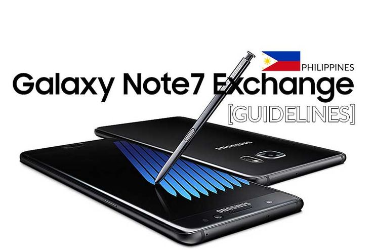 Galaxy Note7 Exchange and Refund Mechanics in the Philippines
