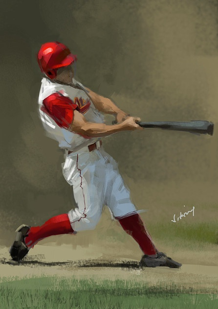 17 Best Images About Baseball Drawings On Pinterest 2d