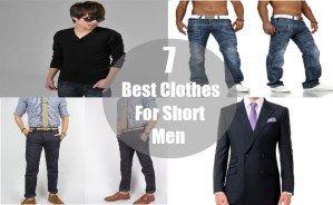 7 Best Clothes For Short Men