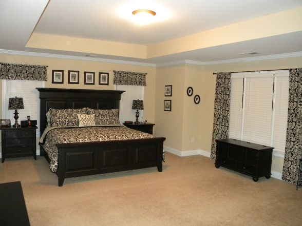 25 best ideas about damask bedroom on pinterest black for Black damask bedroom ideas