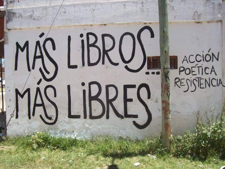 Mas libros, mas libres; Accion Poetica Argentina