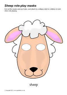 Sheep role-play masks (SB9109) - SparkleBox