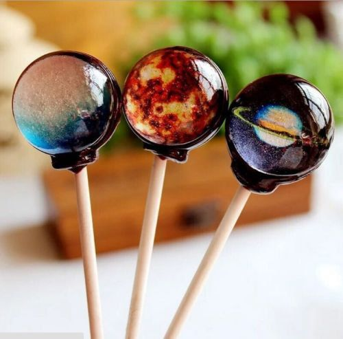 10 Couture Planets Lollipops Universe Galaxy Space by JuJuJanie