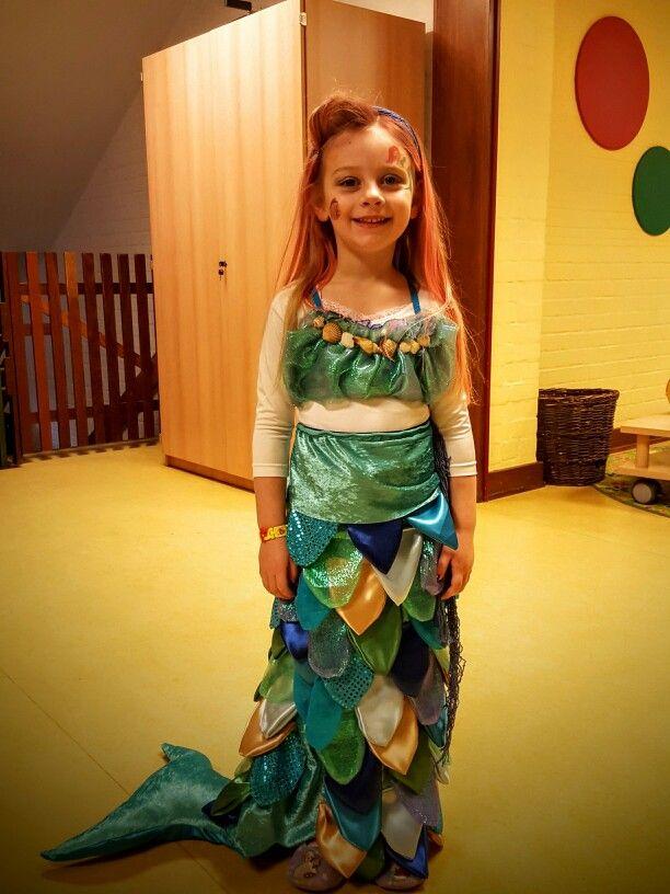 Meerjungfrauen-Kostüm DIY