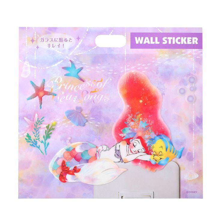 【ディズニーストア】ウォールステッカー アリエル | プレゼント・ギフトの通販・販売ならDisneystore