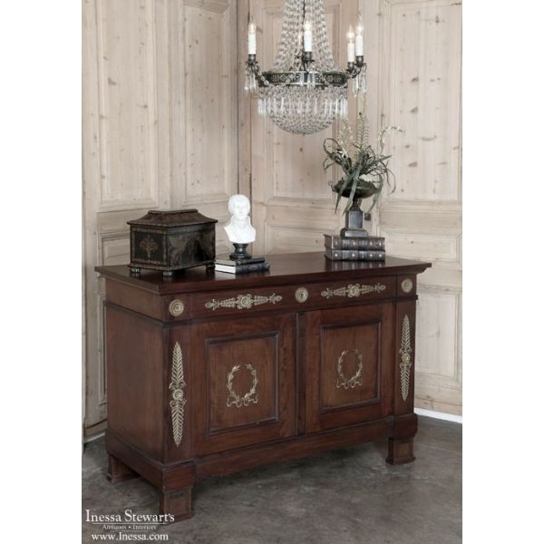 Antique Furniture | Antique Buffets And Sideboards | Formal Buffets | 19th  Century Second Empire Mahogany