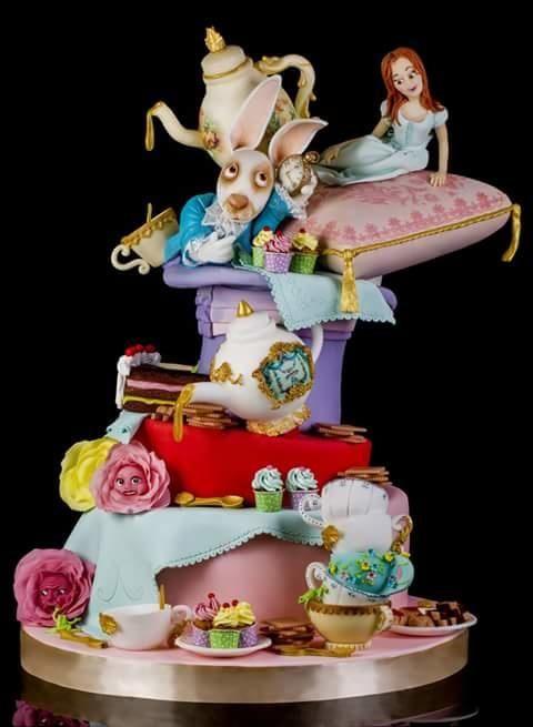 Alice in Wonderland - Cake by Le torte di Renato