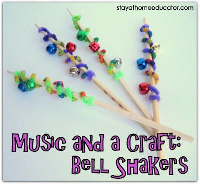 Playgroup Activity: Musical Bell Shakers. Welcome Baby.