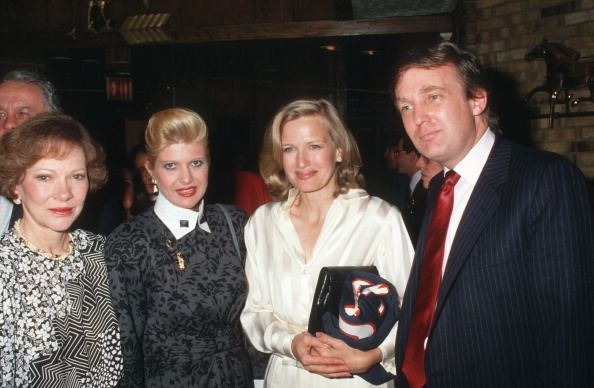 Rosalynn Carter Ivana Trump Diane Sawyer and Donald Trump