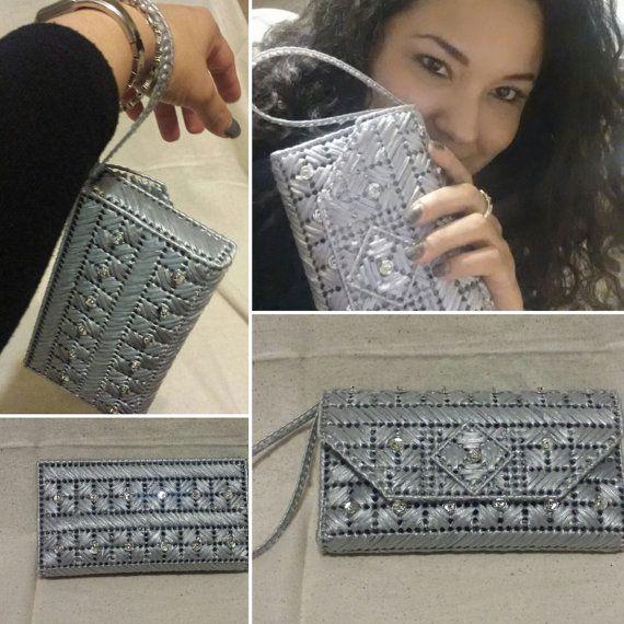 Caminos de plata una pulsera Original de por HelenaSassyBags