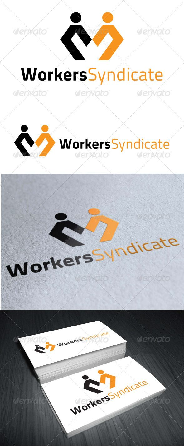 Workers Syndicate - Logo Design Template Vector #logotype Download it here: http://graphicriver.net/item/workers-syndicate-logo-template/3503190?s_rank=1597?ref=nexion