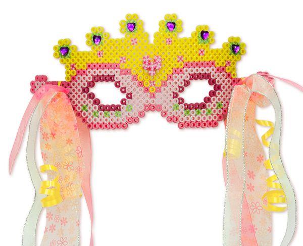 Princess Mask (and Wand) Perler Project Pattern