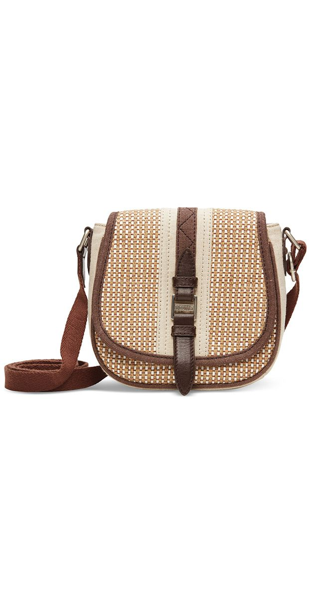 A crossbody from the new TOMS bag collection