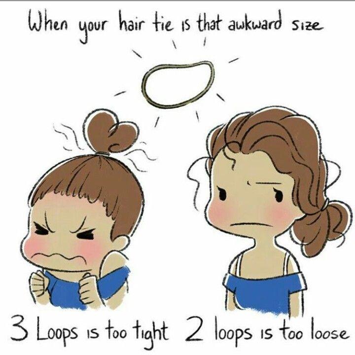 Long hair problems! Ugh                                                                                                                                                                                 More