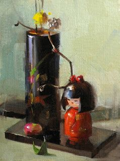 Qiang's approach to still-life painting will be demonstrated with particular focus on composing dramatic setups observing light distribution, and using bold and loose strokes to create a powerful and accurate representation on canvas. Find out more on the class website: http://laafa.org/art-classes/3-day-still-life-painting-and-marketing-qiang-huang-march-22nd/