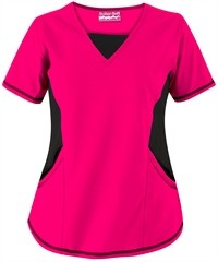 Butter-Soft Scrubs by UA™ V-Neck Scrub Top with Stretch Knit Panels $16.99 in Divalicious