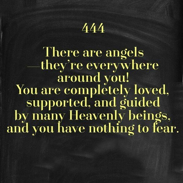 Doreen Virtue, Angel Numbers 101  #444