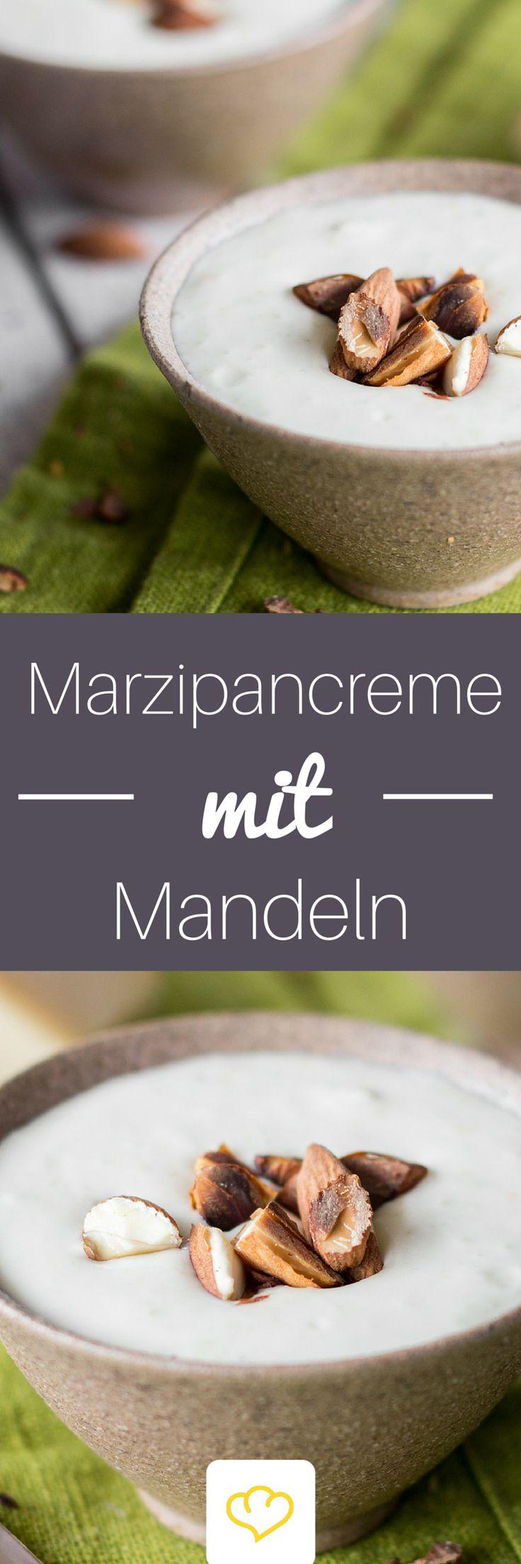 So lässt sich der Winter versüßen - feiner Marzipan, frische Orange und milde Mascarpone vereinen sich zu einer cremigen Nascherei, die dir auf der Zunge zergeht. Die exotische Tonkabohne verleiht dem Dessert eine dezente Vanillenote.