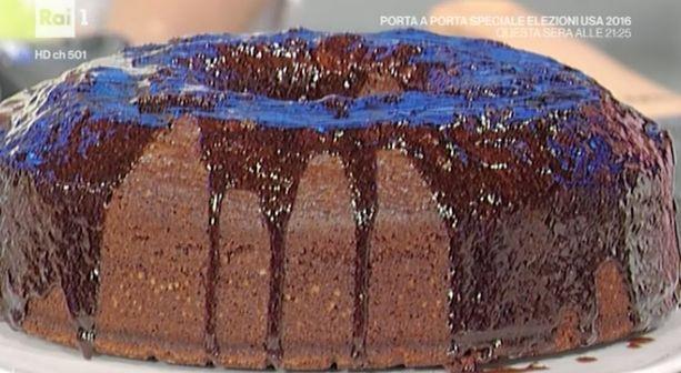 La ricetta del dolce di oggi, la torta di oggi 9 novembre 2016, di Anna Moroni da La prova del cuoco del mercoledì