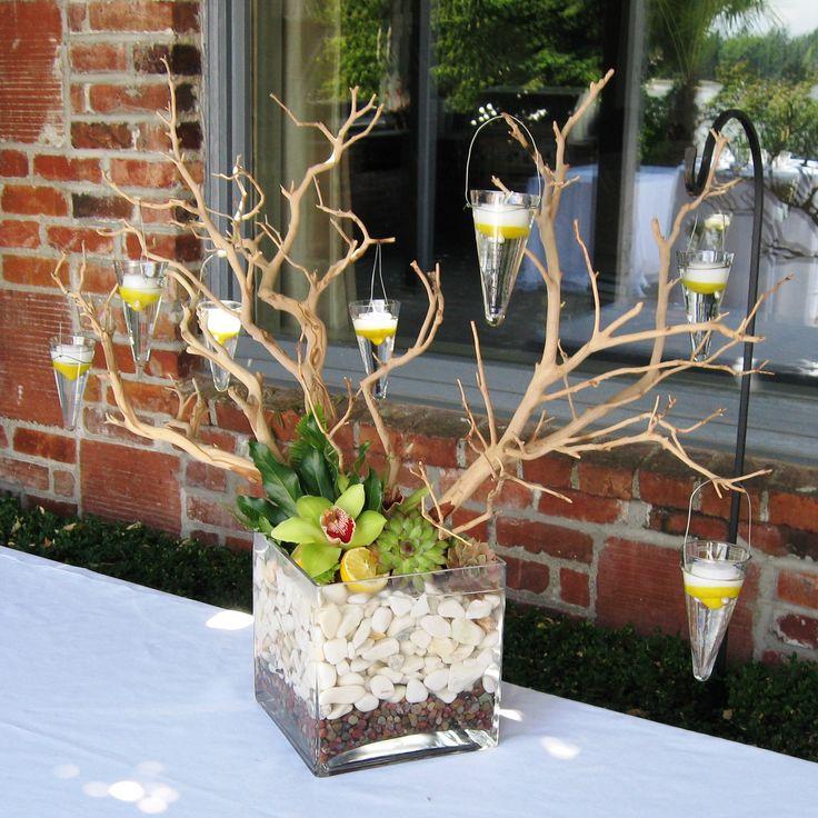 Flower Arrangement Using Driftwood: 44 Best Driftwood Centerpieces Images On Pinterest