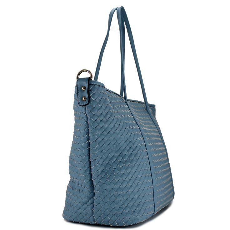 Τσάντα ώμου γαλάζια Oaktree