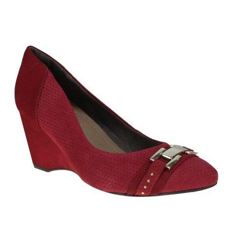 Sapato Usaflex U9512 - Cravina (Aramado/Velour) - Calçados Online Sandálias, Sapatos e Botas Femininas | Katy.com.br