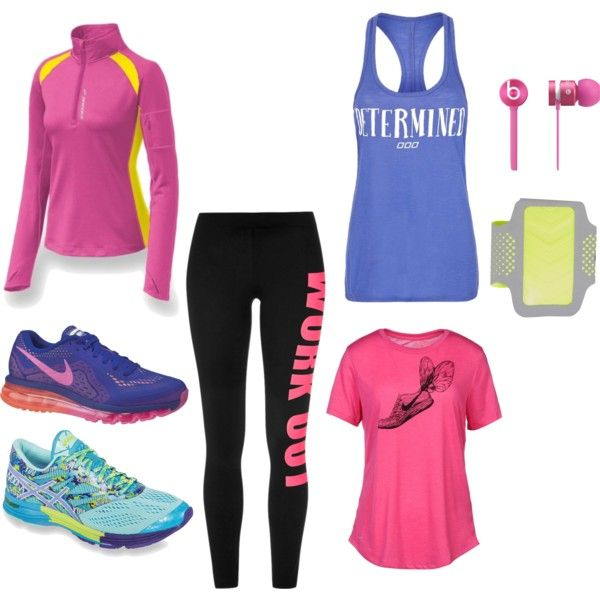 """work out"" by madzia6 on Polyvore"