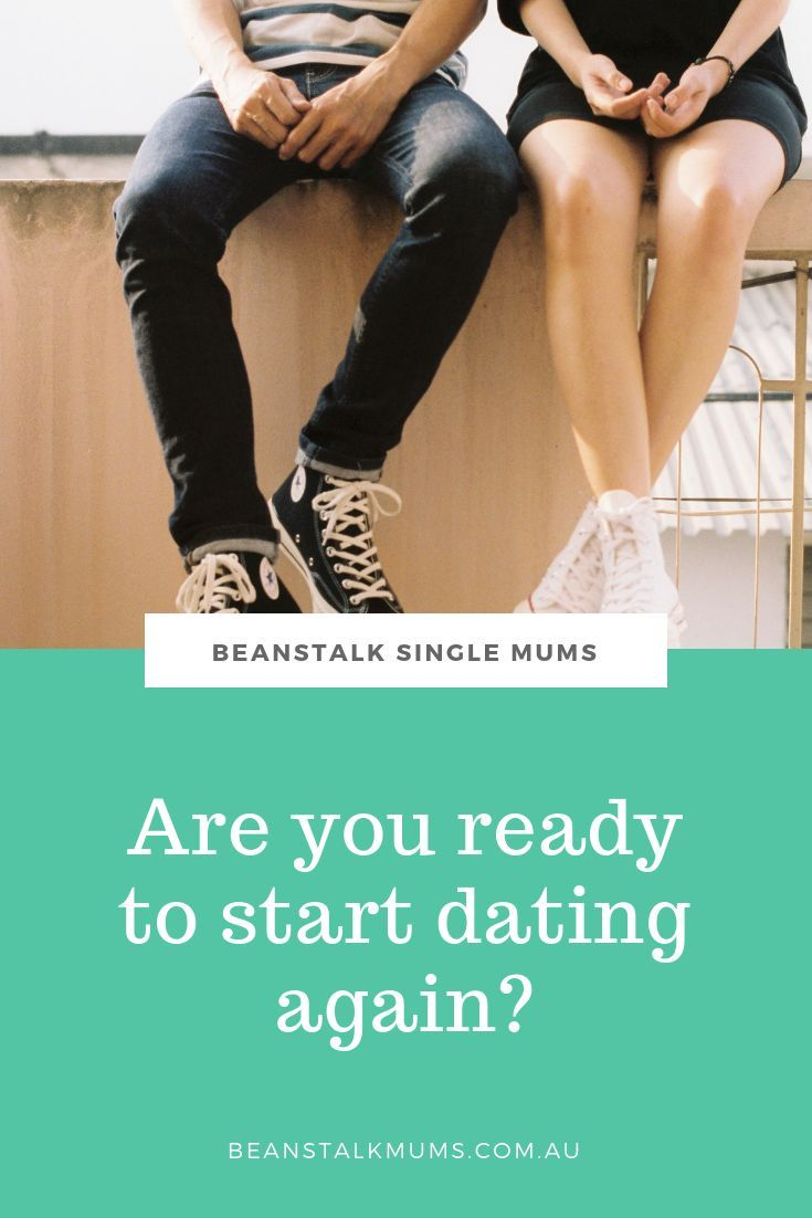 How to know when your ready to start dating again