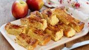 Kokos- æblekage
