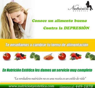 Conoce un alimento bueno contra la depresión. NUTRICIÓN ESTÉTICA http://nutricionylaestetica.blogspot.com/2012/07/conoce-un-alimento-bueno-contra-la.html?spref=tw