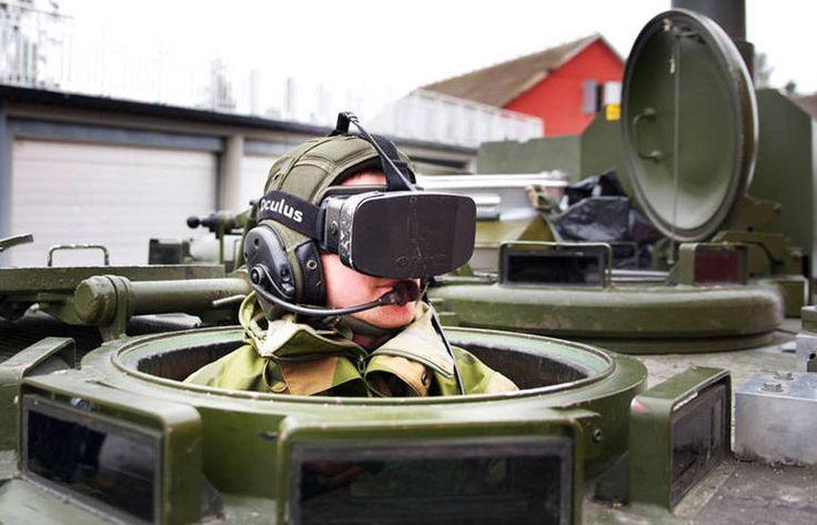 Norwegian army trials Oculus Rift to drive tanks - CNET