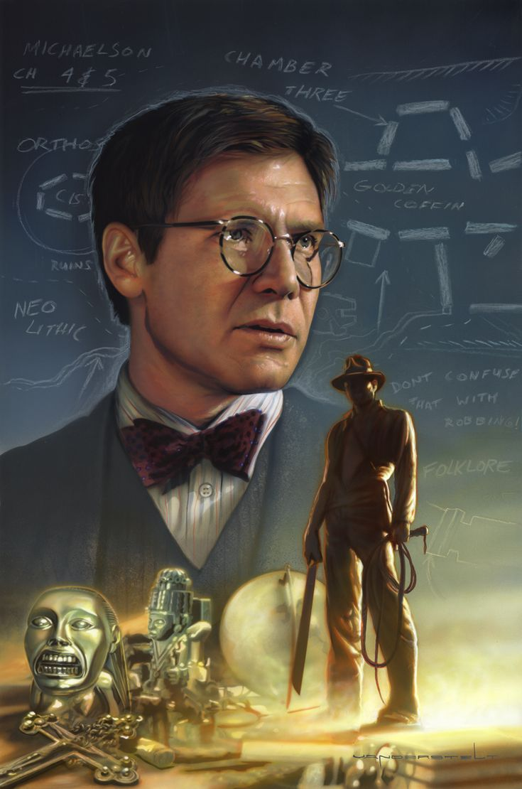 Raiders of the Lost Ark: Professor  Jones by Jerry Vanderstelt
