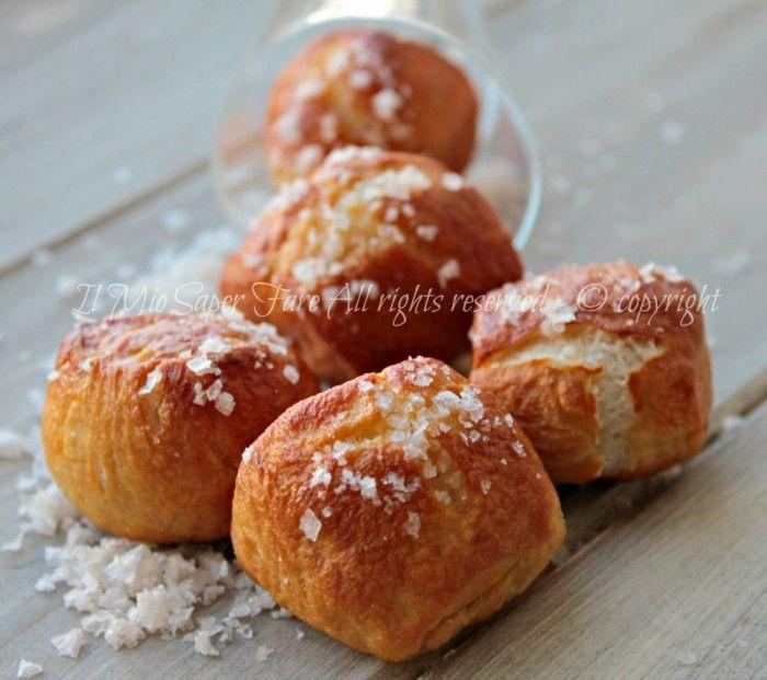 Panini pretzel laugenbrot ricetta il mio saper fare