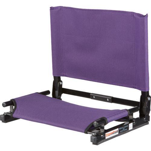 StadiumChair GameChanger™ Stadium Chair Purple - Football Equipment, Football Equipment at Academy Sports