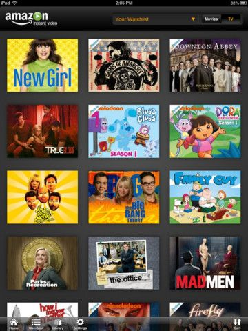 Amazon Instant Video app for iPad hits the App Store with offline viewing and Prime streaming.