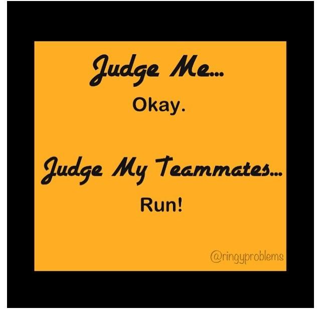 Judging us