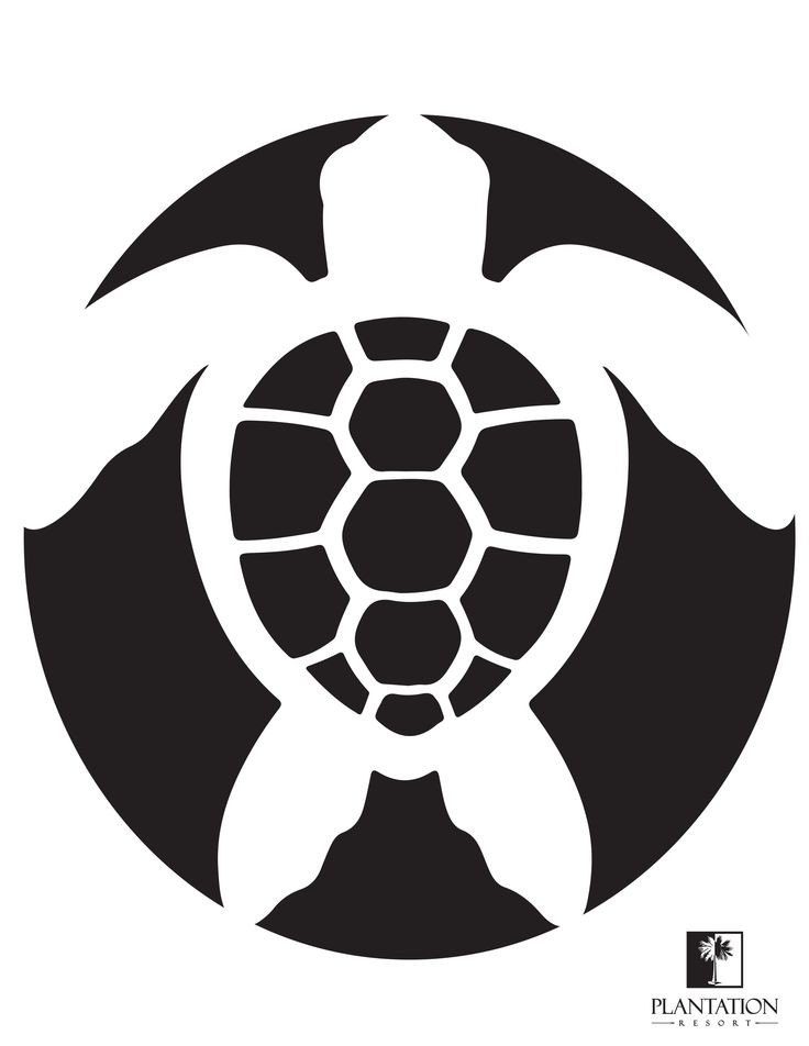 Sea turtle pumpkin stencil. Print out this sea turtle stencil for a sweet nautical pumpkin carving. What a great way to remember your Myrtle Beach vacation at Plantation Resort. It's also a fun way to show your support for sea turtles. See our blog bit.ly/PRturtles for more information on how you can help sea turtles.