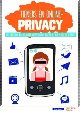 Tieners en online privacy  Nederlandse tieners hechten meer aan hun privacy dan vaak wordt gedacht, zo blijkt uit het rapport Tieners en online privacy. Jongeren hebben de naam dat ze hun hele hebben en houwen gedachteloos op internet zetten, maar uit dit onderzoek blijkt het tegendeel.