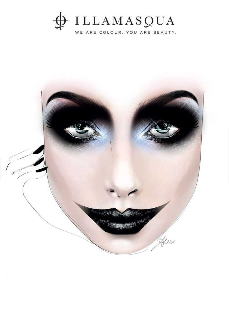 4 scary chic halloween makeup ideas - Scary Halloween Eye Makeup