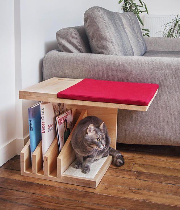 Les 25 meilleures id es de la cat gorie les niches de for Repulsif pour chat sur tissu pour interieur