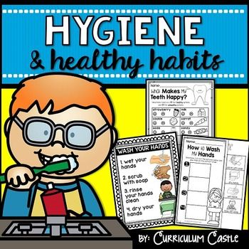 Teach how proper hand washing and brushing your teeth keeps bodies happy and healthy! This unit is filled with supplemental activities to engage your students as you explore various health and hygiene related topics. In this unit, you will find hands on activities, experiments, songs, printables and so much more!