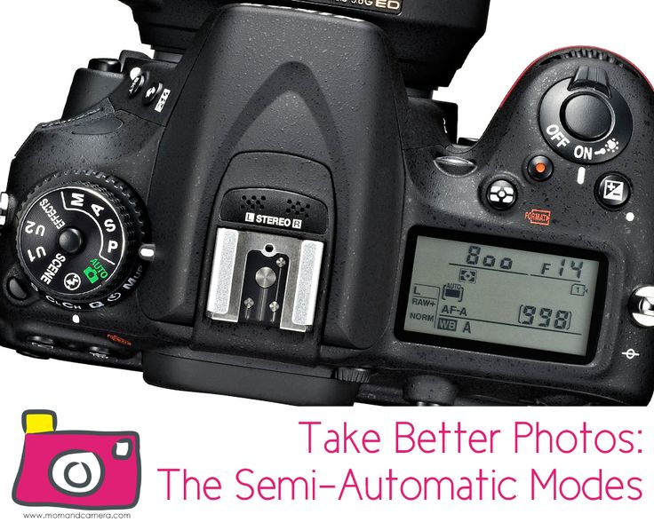 Take Better Photos—The Semi-Automatic Modes