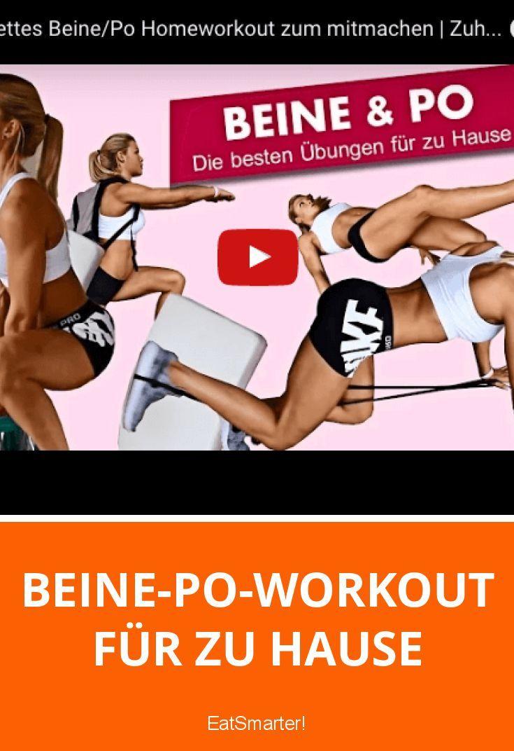 Beine-Po-Workout für zu Hause mit Sophia Thiel