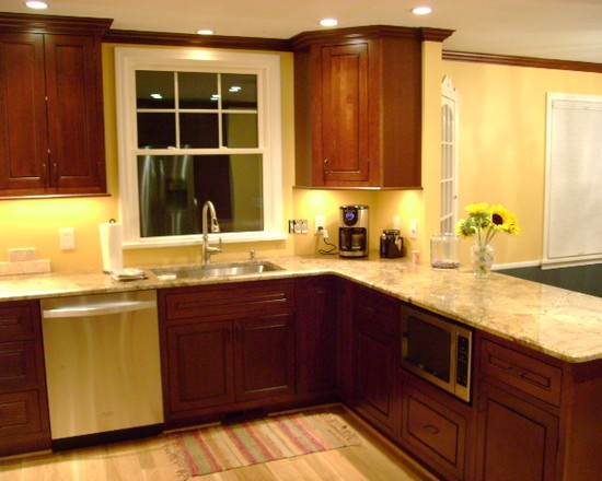 Kitchen Design Ideas Cherry Cabinets