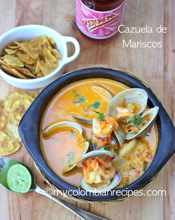 SEAFOOD STEW (CAZUELA DE MARISCOS) | My Colombian Recipes